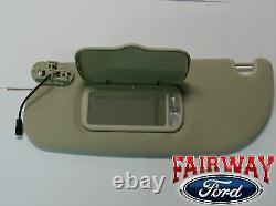 03 04 05 Explorer OEM Genuine Ford Parts LH Driver's Tan Parchment Sun Visor NEW