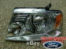 04 05 06 07 08 F-150 OEM Genuine Ford Parts LEFT Driver Head Lamp Light NEW