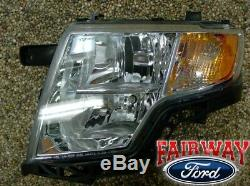 07 08 09 10 Edge OEM Genuine Ford Parts LEFT Driver Head Lamp Light NEW