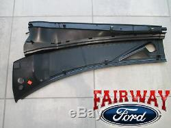 08 thru 10 F250 F350 F450 OEM Genuine Ford Parts Cowl Panel Grille RH Passenger