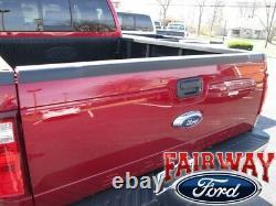 08 thru 16 Ford F250 F350 F450 F550 OEM Genuine Ford Parts Top Tail Gate Molding