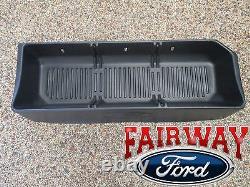 09 thru 14 F-150 OEM Genuine Ford Parts Black Cargo Storage Organizer Crew Cab
