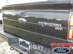 09 thru 14 F-150 OEM Genuine Ford Parts Raptor SVT Tailgate Emblem