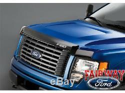 09 thru 14 F-150 OEM Genuine Ford Parts Smoke Hood Deflector Bug Shield NEW