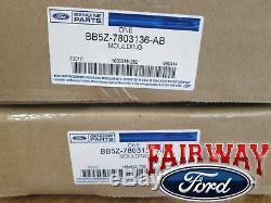 11 thru 16 Explorer OEM Genuine Ford Parts Windshield Pillar Trim Moldings PAIR