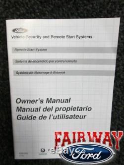 12 thru 15 Focus OEM Genuine Ford Parts Remote Start Kit 2 Fobs No Programming