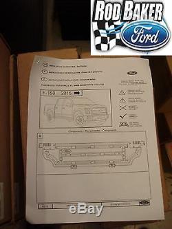 15 thru 18 Ford F-150 OEM Genuine Ford Parts Black Bed Divider Kit for BoxLink