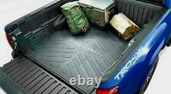2005-2021 Toyota Tacoma Bed Mat 5ft Short Bed, Genuine Oem Part