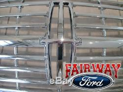2007 thru 2014 Lincoln Navigator OEM Genuine Ford Parts Chrome Grill Grille NEW