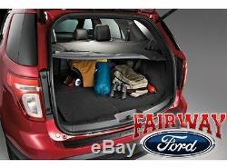 2011 thru 2019 Explorer OEM Genuine Ford Parts Black Cargo Security Shade NEW