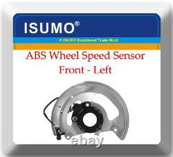 2 ABS Wheel Speed Sensor & Dust Shield Front left & Right FitsChevrolet GMC RWD