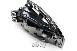 Audi A5 16-19 Genuine Black LED Dynamic Indicator Rear Lights Lamps Set Pair