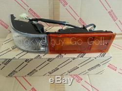 Corolla CP AE86 Kouki Front Left Bumper Turn signal lamp NEW Genuine OEM Parts