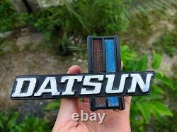 DATSUN 620 Pickup Truck Emblem Badge Front Grille Logo Genuine Parts OEM