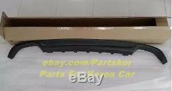 For 2015 Hyundai Sonata LF Dual Rear Diffuser Muffler Cover Genuine Parts OEM