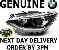 GENUINE BMW 1 Series F20 F21 Bi Xenon Hella Headlight Passenger Side 2011-2015