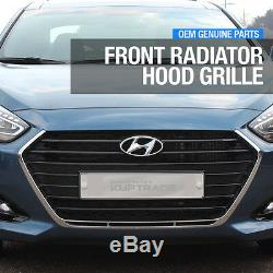 Genuine Parts Front Radiator Hood Grille Assy Trim for HYUNDAI 2015-2018 i40