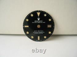 Genuine Rolex GMT-Master Tritium Dial Black 16700 16750 Original Factory OEM