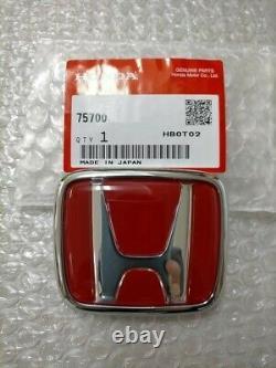 HONDA S2000 AP1 / AP2 Front and Rear Emblem Badge Ornament Set Genuine OEM Parts