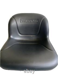 Husqvarna 406623 Lawn Tractor Seat Genuine OEM part Poulan Sears Craftsman NEW