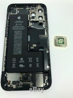 Iphone 11 Pro Max Housing With Small Parts 100% Genuine OEM Pull Black Gray