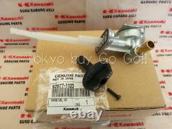 Kawasaki Ninja ZX-6R ZX-9R ZZR600 Fuel Tap Petcock + KNOB NEW Genuine OEM Parts