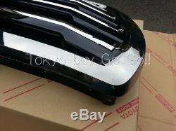 Land Cruiser 200 Black Chrome Front Grille NEW Genuine OEM Parts 2012-2015