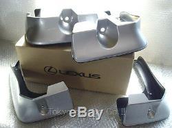 Lexus GS250 GS350 GS300h GS450h Side Mud Flaps Guard Genuine OEM Parts 2012-15
