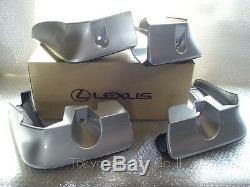 Lexus GS250 GS350 GS450h Side Mud Flaps Guard NEW Genuine OEM Parts 2016-19