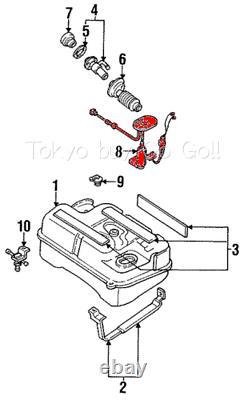 MAZDA RX7 Fuel Level Sender Unit Gauge FC02-60-960 NEW Genuine OEM Parts 1989-92