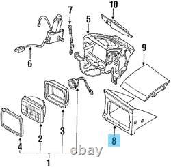 NISSAN 240SX 180SX 1989-1994 Genuine Headlamp Trim Cover RH & LH Set OEM Parts