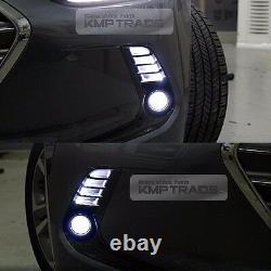 OEM Bumper DRL Fog Light Lamp Assy Cover LH RH Wiring for HYUNDAI 17-18 Elantra