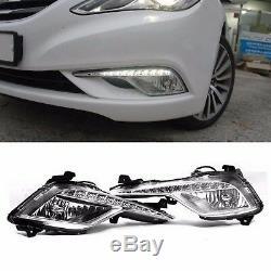 OEM Genuine Parts Daylight LED Fog Light Lamp For HYUNDAI 2011-14 YF Sonata i45