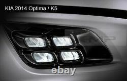 OEM Genuine Parts Fog Light LED Lamp + Cover Assy For KIA 2014 2015 Optima K5