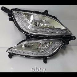 OEM Genuine Parts Front DRL Fog Light Lamp Assy LH For HYUNDAI 13-16 Elantra GT