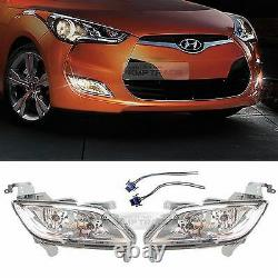 OEM Genuine Parts Front Fog Light Lamp Assembly for HYUNDAI 2011 2017 Veloster
