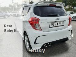 OEM Genuine Parts Front Rear Side Body Kit Set White For Chevrolet 2018-19 Spark