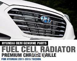 OEM Genuine Parts Fuel Cell Radiator Grille for HYUNDAI 2010 2015 Tucson ix35