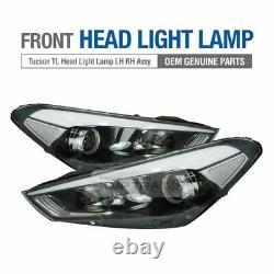 OEM Genuine Parts Halogen Front Head Light Lamp for HYUNDAI 2016 2019 Tucson