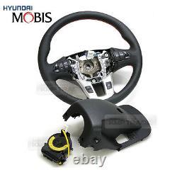 OEM Genuine Parts Heated Steering Wheel Diy Kit for KIA 2011 2016 Sportage R