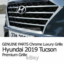 OEM Genuine Parts Hood Radiator Grill witho camera hole For HYUNDAI 2019 Tucson