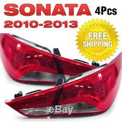 OEM Genuine Parts LED Tail Light Rear Lamp For HYUNDAI 2011-2014 YF Sonata i45