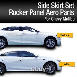 OEM Genuine Parts Rocker Panel Side Skirt Set For Chevrolet 2016-2018 Malibu