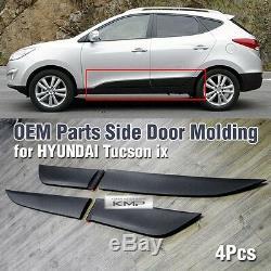 OEM Genuine Parts Side Door Garnish Molding 4Pcs For HYUNDAI 2010-2015 Tucson ix