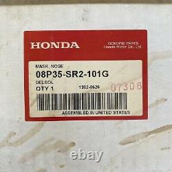 OEM Honda Del Sol 1992-1995 Nose Mask Hood Bra 08P35-SR2-101G Genuine Parts JDM
