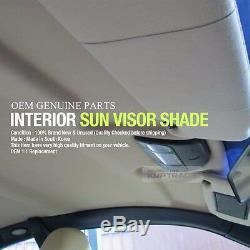 OEM Interior LED Hand Sun Visor Shade Left Right Gray for KIA 2011-2017 Picanto