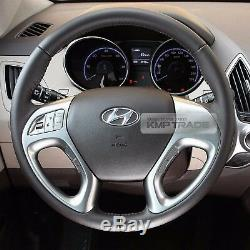 OEM Leather Steering Wheel Handle Bluetooth Kit For HYUNDAI 2010-2015 Tucson ix