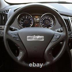OEM Leather Steering Wheel Handle Bluetooth Paddle for HYUNDAI 2011-2014 Sonata