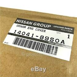 OEM Nissan 14041-89S0A 08-20 GT-R GTR R35 Nismo Red Engine Cover Genuine Part