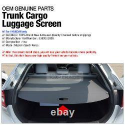 OEM Parts Rear Trunk Cargo Luggage Screen net 1ea For HYUNDAI 2016-2020 Ioniq
